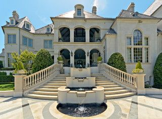Private Residence - French Formal Luxury - traditional - exterior - dallas - by Harold Leidner Landscape Architects