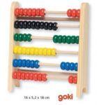 Drewniane liczydło firmy Goki - doskonałe do nauki liczenia. zobacz inne zabawki edukacyjne na www.kidsabc.pl