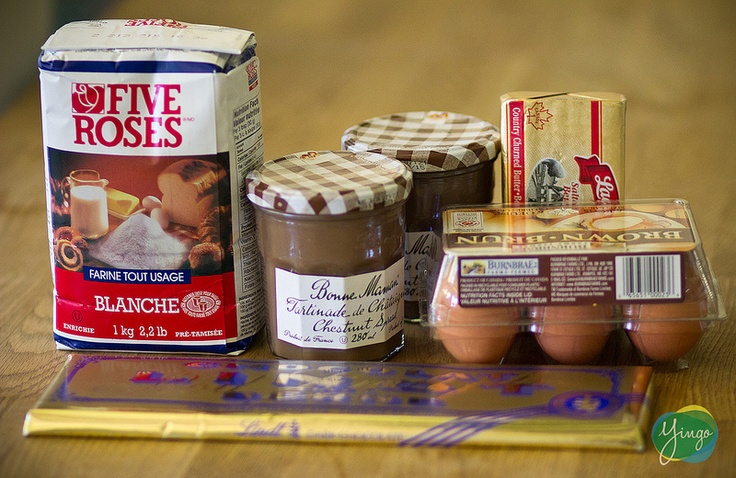 Cookin' at Home with Yingo : Chef Chicha's Chocolate-Chestnut Cloud