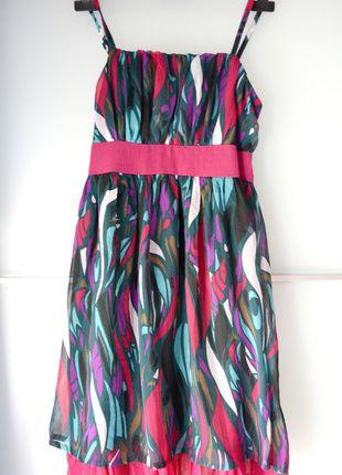 Kup mój przedmiot na #vintedpl http://www.vinted.pl/damska-odziez/krotkie-sukienki/14202801-sukienka-odcinana-w-pasie-szyfonowa-wesele