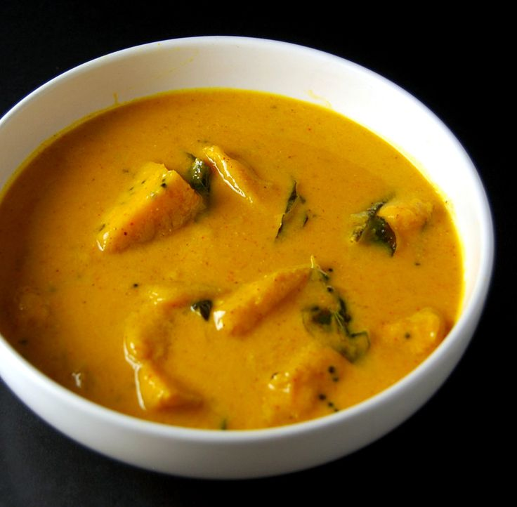 A recipe for Mango Curry, also called Ambya Sasam. This easy and healthy curry comes together in minutes and is absolutely delicious.