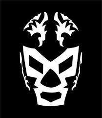 Resultado de imagen para máscaras de lucha libre dibujo