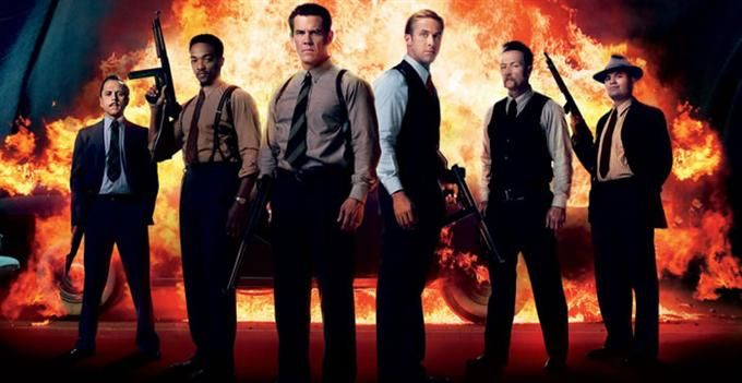 """Watch several new """"Gangster Squad"""" clips to prep you for the Ruben Fleischer film starring Josh Brolin, Ryan Gosling, Sean Penn, Emma Stone, Anthony Mackie, Giovanni Ribisi, Michael Pena and Robert Patrick."""