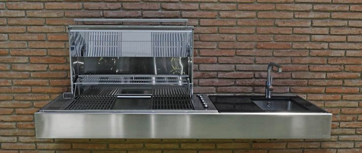 This Sleek Stainless Steel Barbecue Is A New Revolutionary Concept