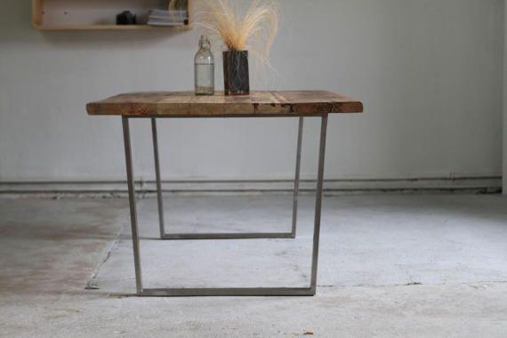 gambe del tavolo 2 x 72cm forma a U 60 x 20 mm in acciaio
