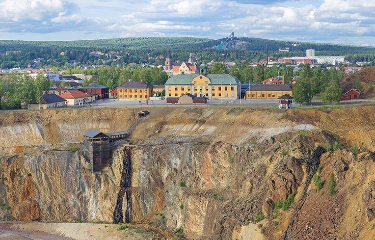 Copper Mountain in Falun