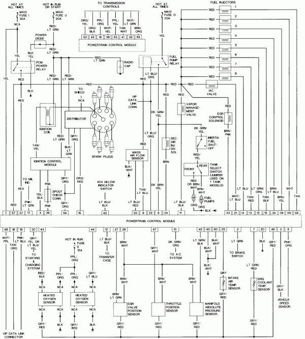 Wiring Diagram For 1994 Ford Diesel Schematic Wiring Diagram