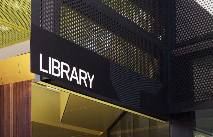 Bendigo Library branding by Hofstede Design + Development Studio - Melbourne