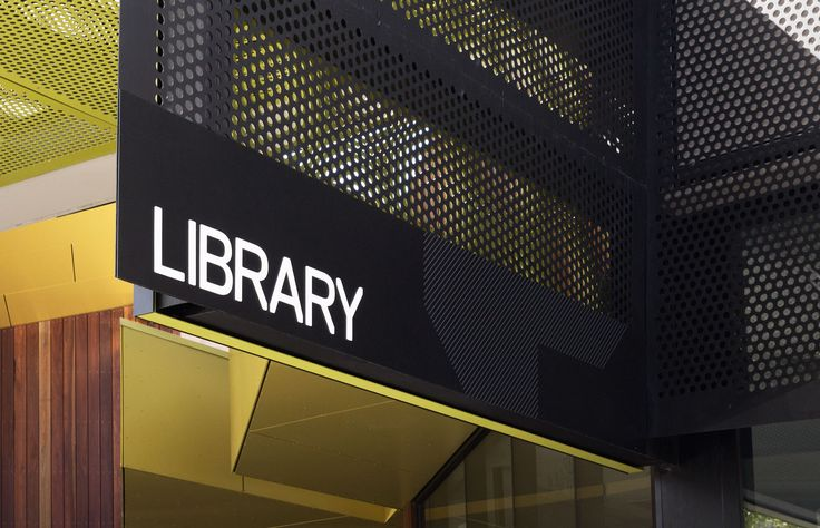 Bendigo Library branding by Hofstede Design + Development Studio - Melbourne