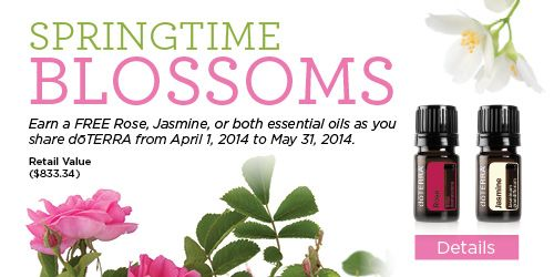 Home Business Earn Free Rose And Or Jasmine By Sharing Doterra Essential Oils Through May 31st