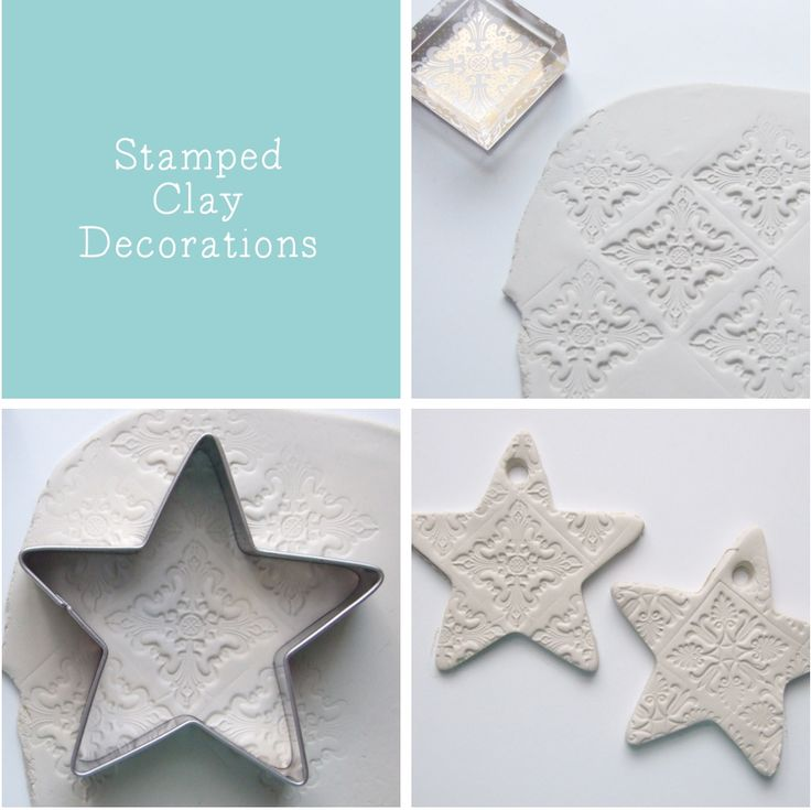 Stamped Clay Decorations - Gathering Beauty