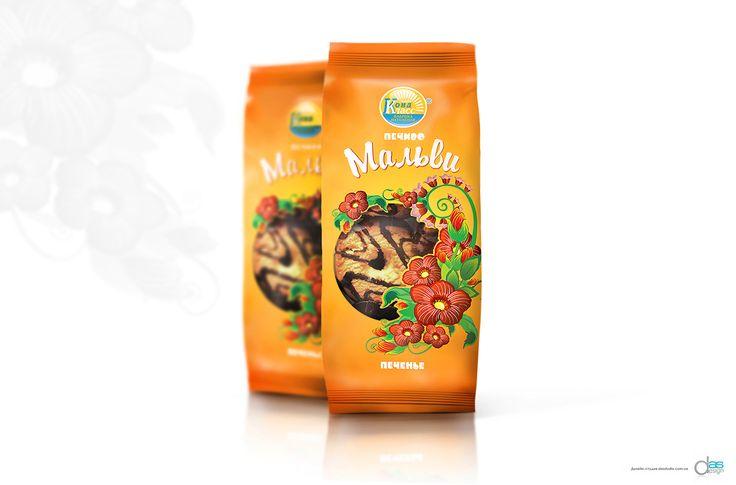 Дизайн упаковки для печенья
