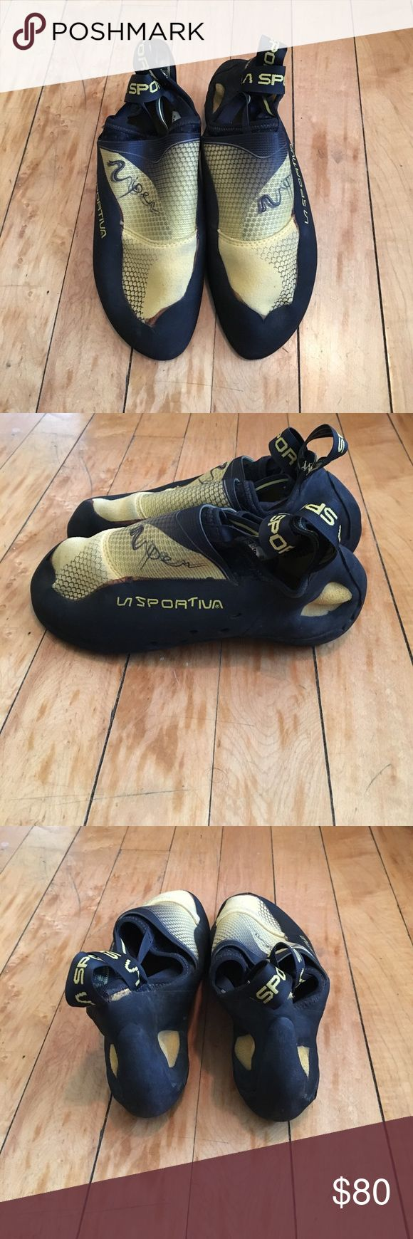 Selling this La Sportiva Viper Climbing Shoes on Poshmark! My username is: 2ndhandsummit. #shopmycloset #poshmark #fashion #shopping #style #forsale #la sportiva #Shoes