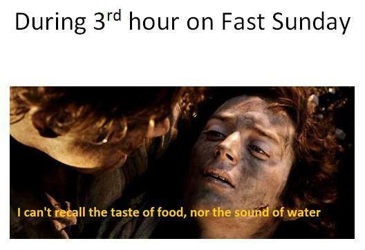 Fasting Lord of the Rings Meme