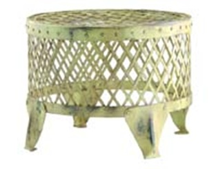Pistachio Foot stool in woven metal. Functional durable and beautiful. $125  sc 1 st  Pinterest & 91 best foot stools images on Pinterest | Foot stools Step stools ... islam-shia.org