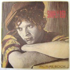 Simple Red. Picture book. Lp vinilo. 1985. Elektra London