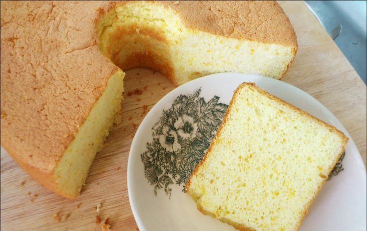 Orange Chiffon Cake Recipe Kitchentigress