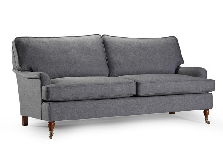 Howard 3,5-sits Grå från Furniturebox