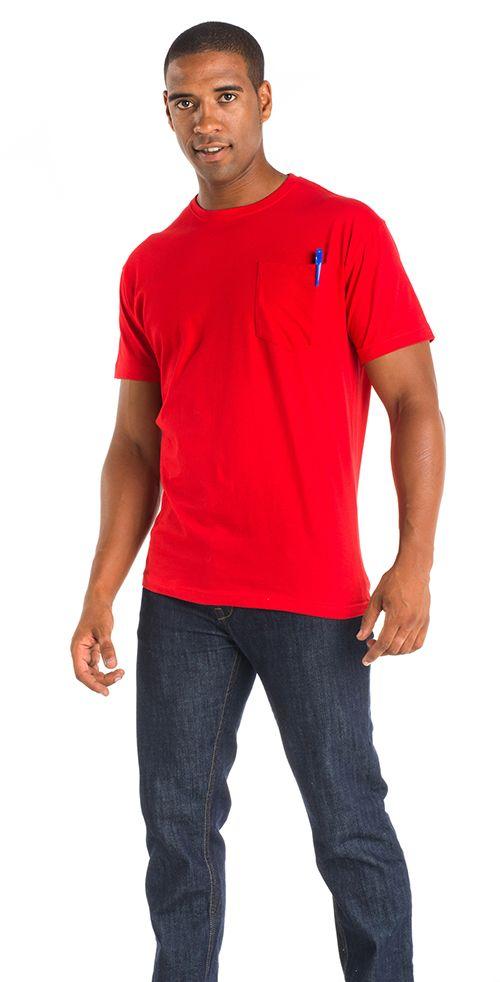 Camiseta Roly Teckel color rojo