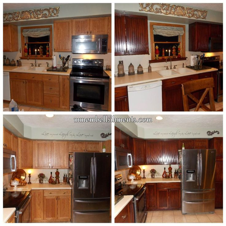 Minnesota Kitchen Cabinets: 1000+ Ideas About Updating Oak Cabinets On Pinterest