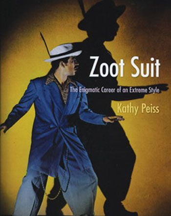 In literal terms, the zoot suit was a largely oversized pair of suit pants tightly cuffed at the ankles matched with an equally exaggerated suit jacket (with an oversized lapel and fitted cuffs.) The suit was worn mostly by young people throughout the thirties when the jitterbug became a popular dance, but was declared wasteful when the L-85 standards were enacted. Seemingly unpatriotic, the suit began to symbolize criminals and members of gangs.