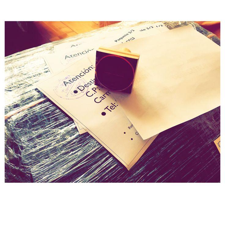 Canastas empaquetadas  #canastas #sellos #arconavideño #tiendadecanastas