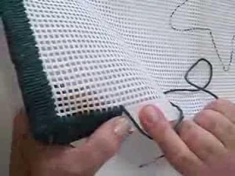 VIDEO AULA COM CRIS ARTES TAPETE PONTO GREGO - YouTube