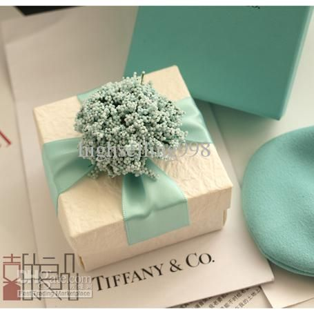 European Style New Wedding Candy Box With Silk Ribbon Wraps Flowers Favors Green 30pcs