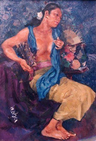 Roland Strasser - Wanita duduk