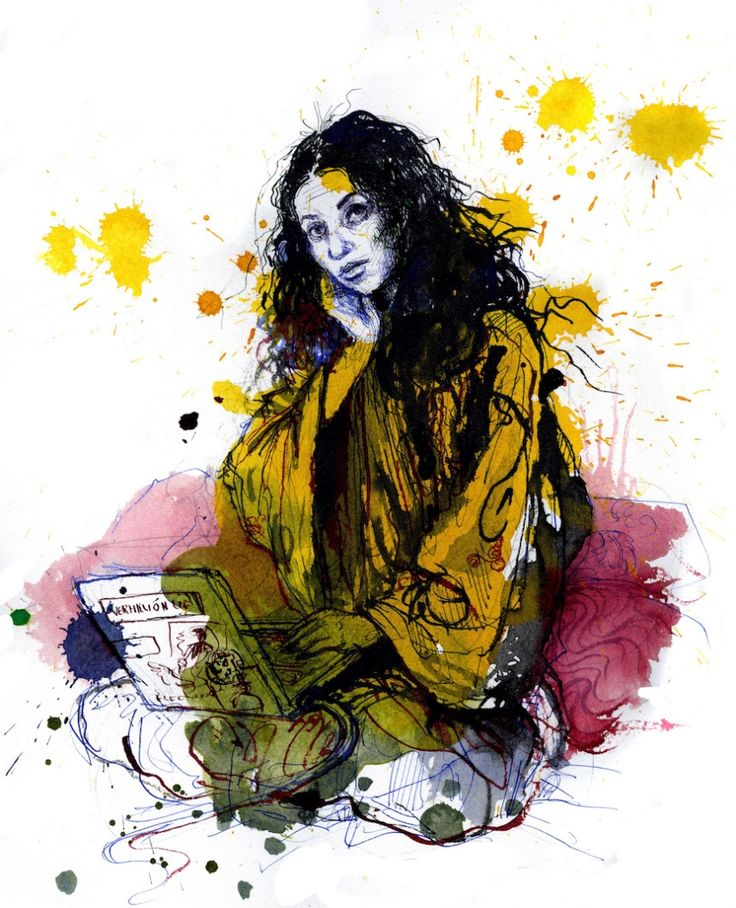 Artist Molly Crabapple on Refusing Lena Dunham, Sketching Occupy and Achieving Cockroach-Free Hair http://inthesetimes.com/article/18657/Molly-Crabapple-Occupy-Memoir-Drawing-Blood