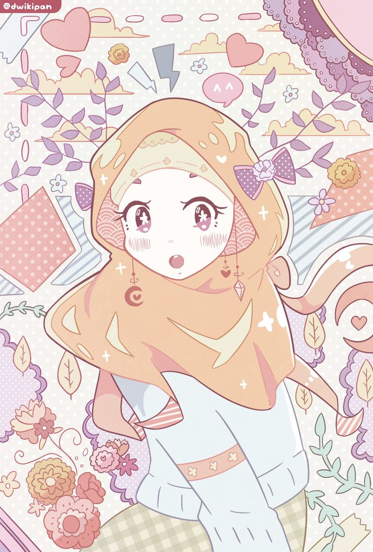 ArtStation Citrus & Violet, dwikipan Seni islamis
