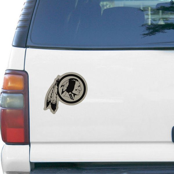 "Washington Redskins Logo 6"" x 6"" Die-Cut Metallic Car Magnet - $7.99"