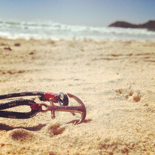 Tom Hope anchor bracelet - Instagram @thetomhope #anchor #bracelet #fashion #nautical