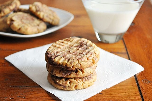 Peanut Butter Nutella Cookies....YUM!