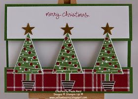Yellowbear Stampin: Festival of Trees - part six