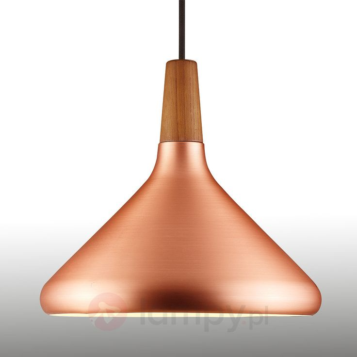 Lampa wisząca FLOAT, miedziana, 27 cm   Lampy wiszące do kuchni i do jadalni   SKLEP MODNE-WNETRZA.COM