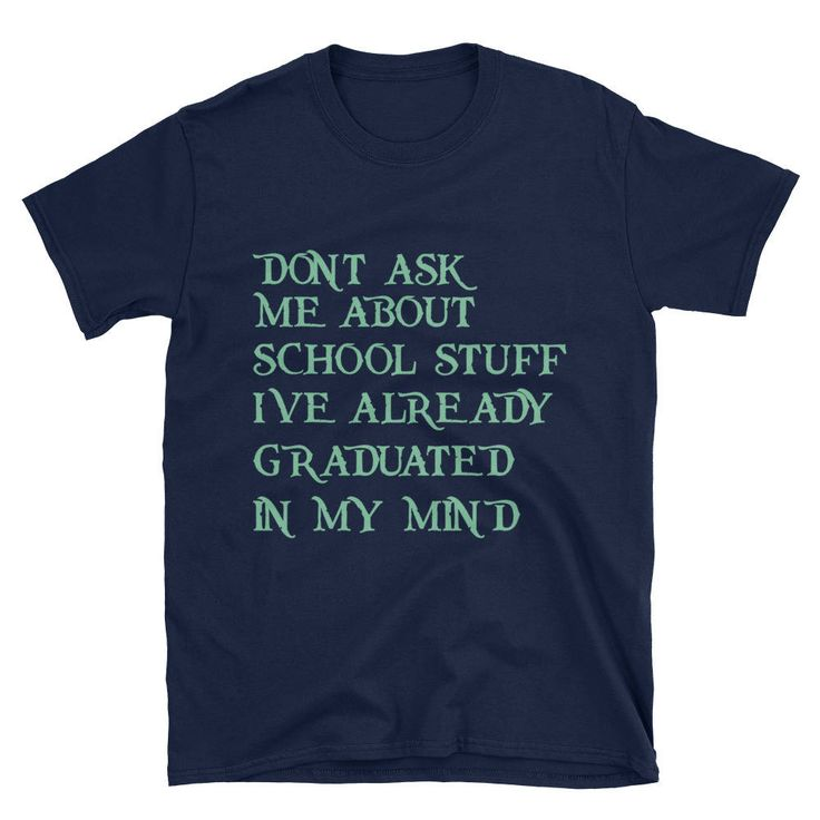 Funny T-shirts For students,Gift for Graduate School Student - Grad School Shirt Graduate School Grad Student Gift,Graduated Tees by USTeeFashion on Etsy