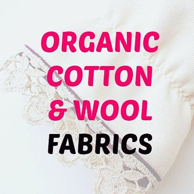 Ottawa, Ontario | Organic Cotton & Wool fabrics