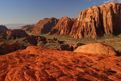 Snow Canyon State Park, Utah... Hiking in my back yard... Gotta love this Life!!.=D