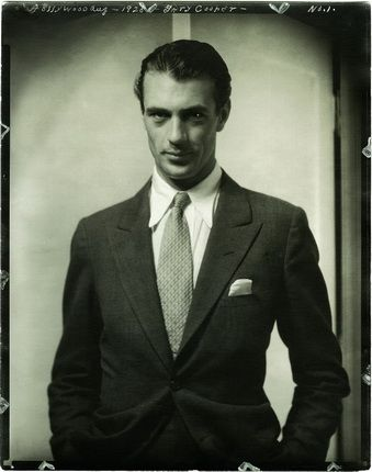 Эдвард Штайхен. Актер Гэри Купер. 1930. Courtesy Condé Nast Archive. © 1930 Condé Nast Publications