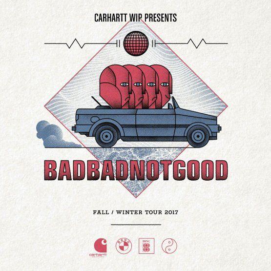 """#streetstorynews  Carhartt WIP с гордостью представляют европейский турfall / winter 2017 Канадского квартетаBadBadNotGood.Группа из Торонто, Онтарио, известна по всему миру своими уникальными интерпретациями хип-хоп треков и их потрясающими коллаборациями с такими звездами, как Kendrick Lamar, Tyler, The Creator, Earl Sweatshirt, Danny Brown и Snoop Dogg. После выхода альбома """"III"""" взяли музыкальный мир штурмом с дерзкой смесью классных джазовых импровизаций, сладких баллад, краут-рока и…"""