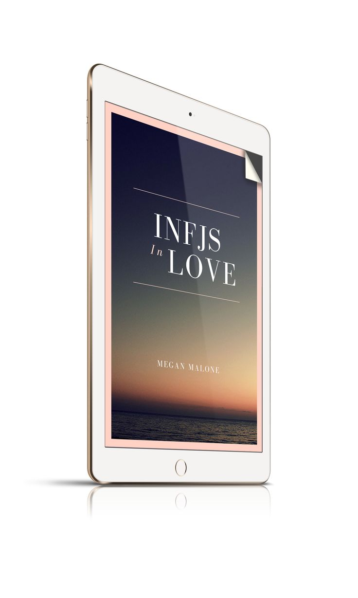 INFJs In Love is an ebook that examines the benefits and challenges of INFJs in relationships with each of the 16 personality types.