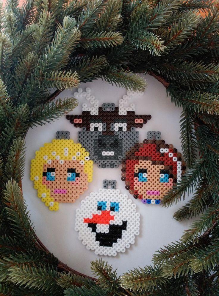 Pixel Art – Navidad III – Frozen |