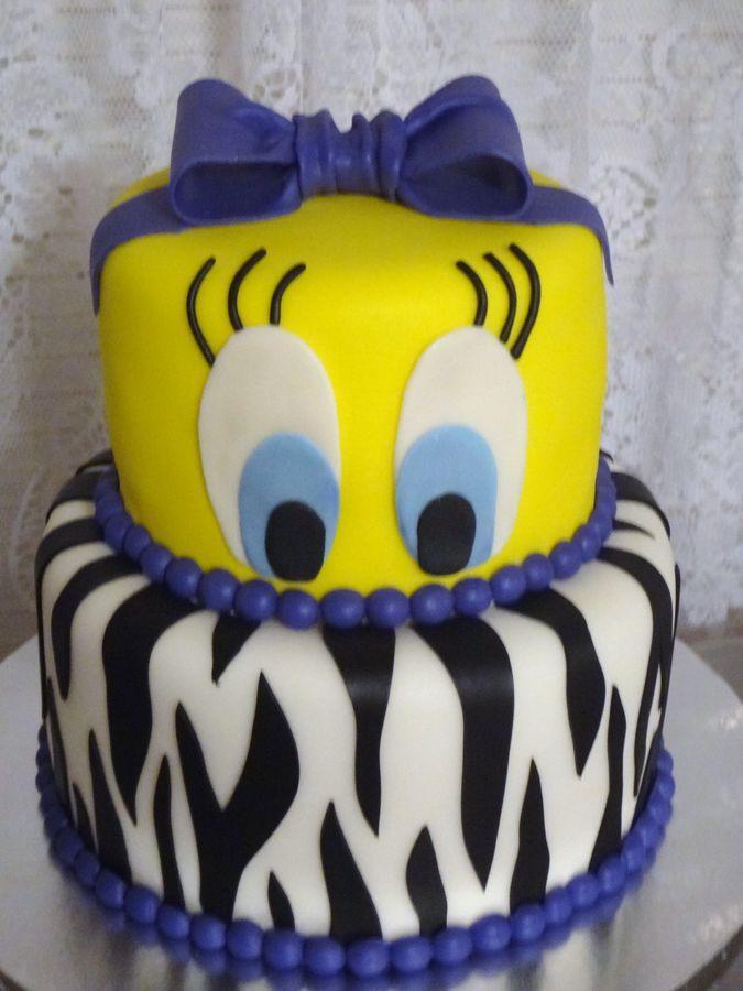 Tweety — Birthday Cake Photos