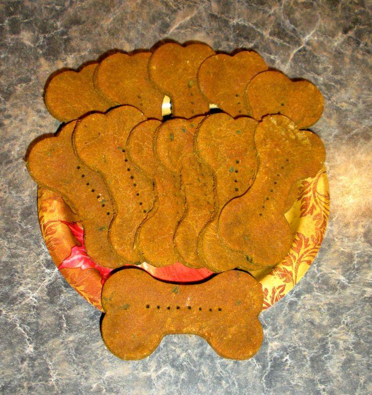 Maggie's Pumpkin Pie Dog Cookie Recipe