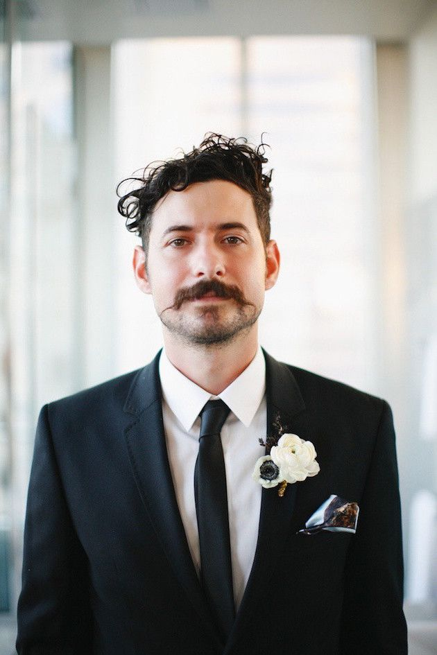 Cheios de estilos! Noivos mostram que podem casar de barba!