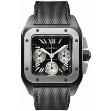 Cartier Santos 100 XL W2020005 Watch - Titanium, DLC - Buy & Sell - Authentic