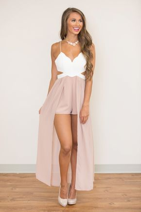 Love Lingers In My Heart Maxi Romper