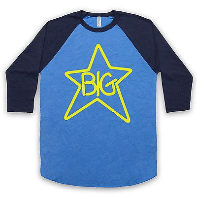 Big star #unofficial rock raglan ¾ #sleeve baseball alex chilton t #shirt all si,  View more on the LINK: 	http://www.zeppy.io/product/gb/2/121562863199/