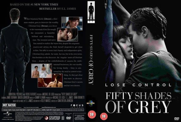 Fifty Shades Of Grey 2 Dvd Cover